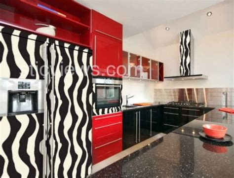 Kitchens Gone Wild Animalprint Appliances  Hooked On Houses
