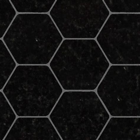 black marble hexagonal texture seamless 17109