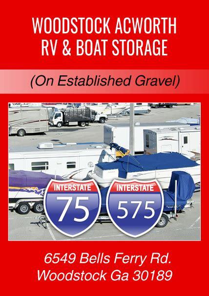 Boat Trailer Rental Atlanta by Woodstock Acworth Rv Boat Storage Atlanta Tractor