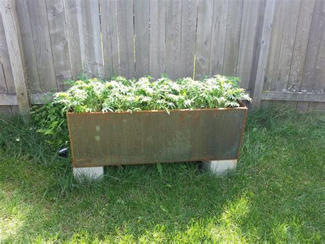 corten steel planters planter llc