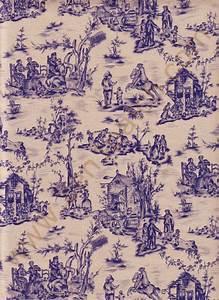 Toile De Jouy : tissu patchwork toile de jouy 2 en 1 patchwork ~ Teatrodelosmanantiales.com Idées de Décoration