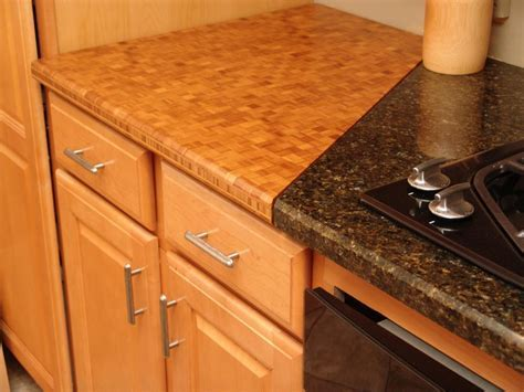 Wood and Butcher Block Kitchen Countertops   HGTV