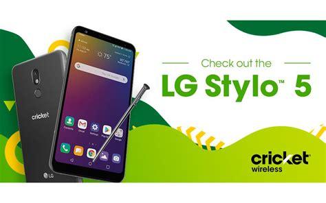 lg stylo  launch   lovers  cricket wireless slashgear