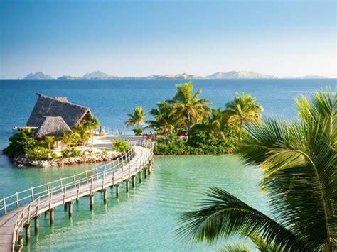 likuliku lagoon resort  fiji overwater bungalows