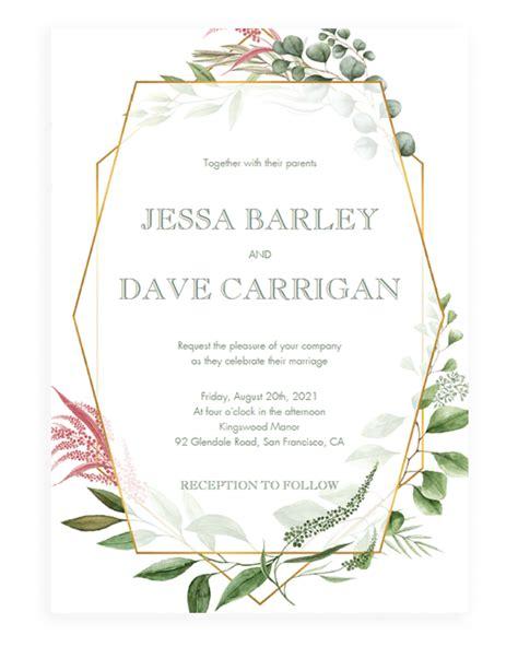 wedding invitation samples png wedding
