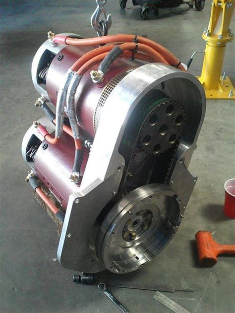 Electric Vehicle Motor by Warp 9 Dc Motors Drive The Sri Ev1 E Racer Electric