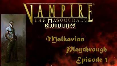 Malkavian Vampire Masquerade Tongues Speaking Bloodlines Scary