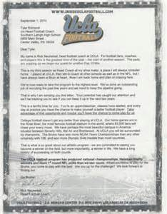 Athletic Resume Template Qb Family Letters Of Recruitment Ty Edmond