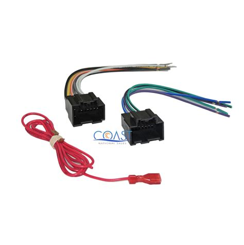 Gmc Factory Radio Wire Harnes For Aftermarket Car by Aftermarket Radio Harness For 2006 2008 Gm Vehicles W
