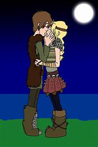 Astrid and Hiccup by LoudNoises on DeviantArt