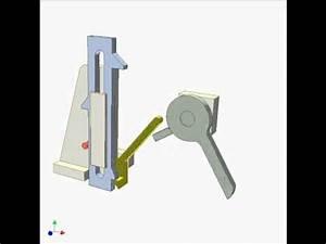 Dwell Slider Mechanism 3 - YouTube