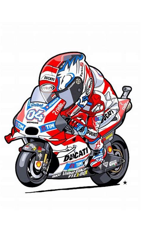 Animated Bikes Wallpapers - animated andrea dovizioso iphone wallpaper
