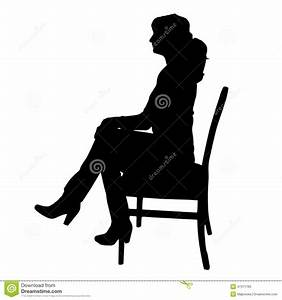 Vector Silhouettes Of Woman. Stock Vector - Illustration ...