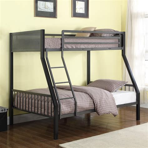 27010 coaster furniture beds coaster bunks 460391 metal loft bunk bed