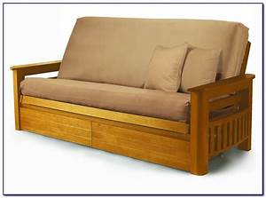 Wooden futon sofa bed sydney conceptstructuresllccom for Wooden frame futon sofa bed