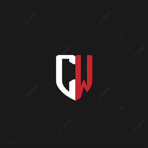 initial letter cw logo design template     pngtree
