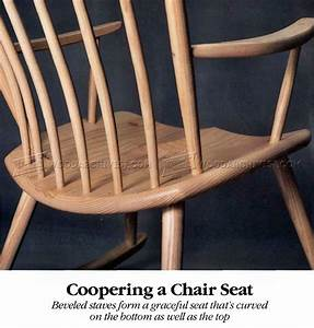 Coopering a Chair Seat • WoodArchivist