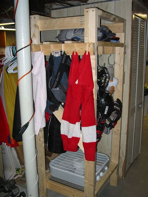 fan for hockey drying rack pin by jennifer cass on things i want jed to build me
