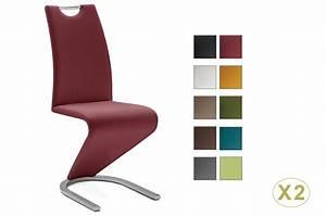 Lot De Chaises Design Pas Cher : chaises pas cher design avec poign e dossier cbc meubles ~ Melissatoandfro.com Idées de Décoration