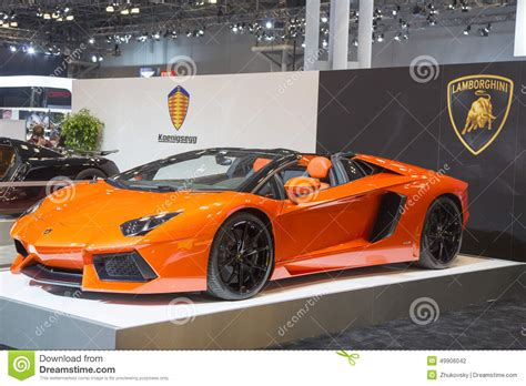 new luxury sports cars lamborghini luxury sport car editorial photography image