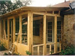 Screened Porch Plans