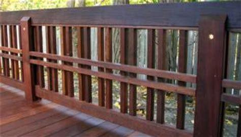 Simple Deck Railing Designs