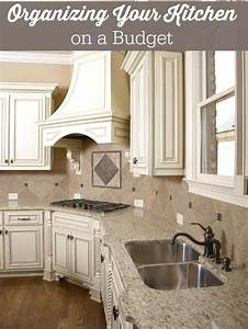 organizing your kitchen on a budget simply stacie