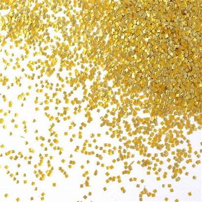 Gold Glitter Squares Glitters Metallic St Sprinkle