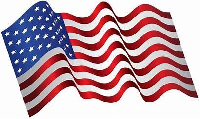 Flag Waving Clip Usa America Clipart Transparent