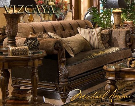 Vizcaya Leather/fabric Armless Chaise