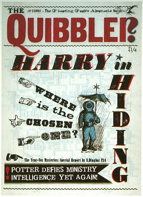 quibbler harry potter wiki