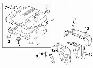2011 Chevrolet Camaro Insulator  Cover   Rear  Lower   3 0