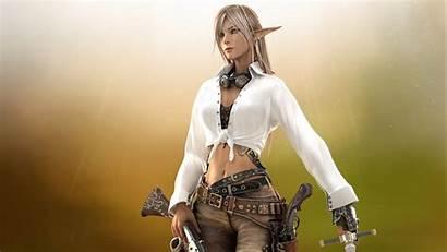 Elf Female 3d Cgi Fantasy Elves Woman