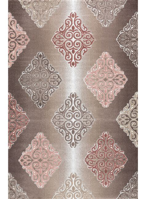 tapis salon tapis de salon barmynio marron tapis design