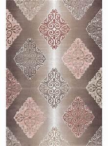 Tapis Salon Design : tapis de salon barmynio marron tapis design ~ Melissatoandfro.com Idées de Décoration