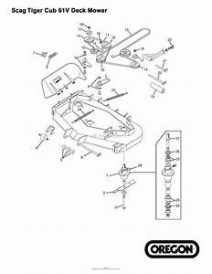Scag Mower Parts Diagram