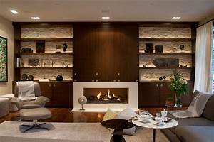 Hidden Tv Cabinet Living Room Contemporary With Shelves