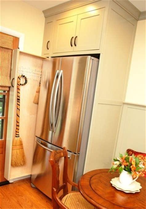 pull  broom storage   kitchen kitchen dc metro