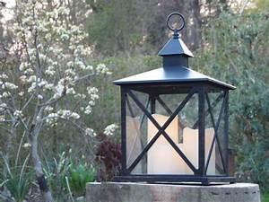 Laterne Garten Kerze : kaemingk laterne kunststoff schwarz mit led kerzen von ~ Lizthompson.info Haus und Dekorationen