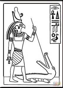 disegno  disegno egizio da colorare disegni da