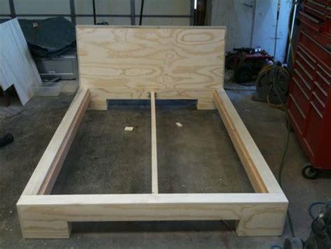 japanese platform bed building plans  woodworking