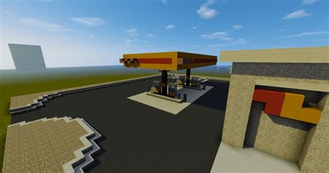 minecraft truck stop love 39 s truck stop realistic build series minecraft project