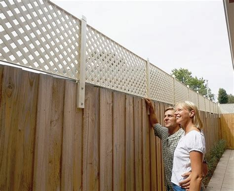 Trellis Fence Extension by Backyard Privacy Fence Extension Search