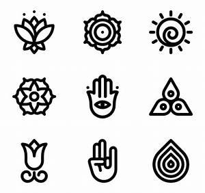 Iconos de Yoga vectoriales - 696 iconos gratis