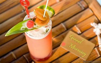 Morning Juice Wallpapers Fruits Cocktail Fruit Wishes