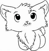 Coloring Pages Kitten Wind Newborn Chimes Kittens Cartoon Kitty Cats Playing sketch template