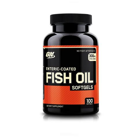 Compare & Buy ON Enteric Coated Fish Oil 100 Softgels