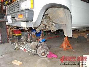 1990 Nissan Pathfinder Straight Axle Conversion