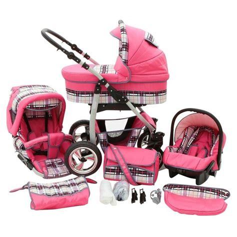 siege auto bebe confort groupe 1 poussette trio color vichy fushia poussette bébé 3 en 1