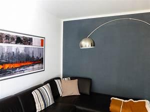 Graue Wand Wohnzimmer : die wirkung von wandfarben der wohnsinn ~ Indierocktalk.com Haus und Dekorationen
